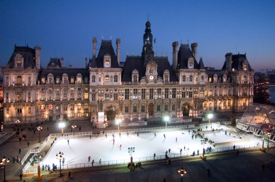 La Patinoire De La Mairie De Paris Stouring In France