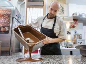 Atelier de création de chocolat Marc Pignot Paris 17