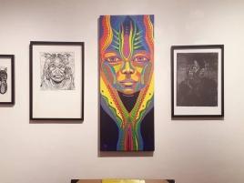 Visite de la Galerie d'Art ZunZun à Toulouse avec Clara-Adelaïde Stourer