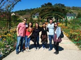 Visite de Giverny avec Gianina