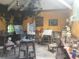 Painting workshop Hotel Baudy Giverny