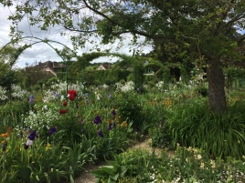 Garten am Haus Claude Monet in Giverny