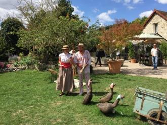 Histoire de la peinture de Monet dans le jardin des Capucines à Giverny