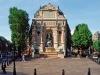 Place Saint-Michel à Paris