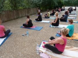 Cours de Yoga avec Parvati à l'Espace Nautique la Grande Garenne à Vernon