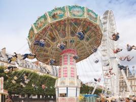 Fête foraine aux Tuileries © Paris Tourist Office - Photographe : Marc Bertrand