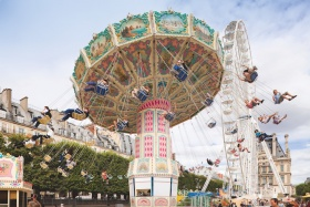 Fête foraine aux Tuileries © Paris Tourist Office - Photographe : Marc Bertrand