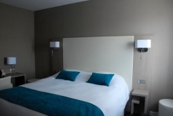 Chambre Double Lit King Size - Hotel Normandy - Vernon - Giverny